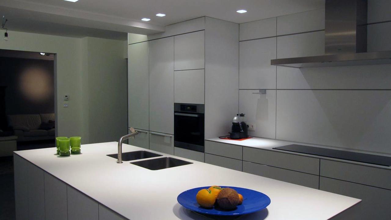 Keukenrenovatie Bedrijf : Stiel Schrijnwerk Gent Keuken Renovatie